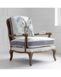 Florence Harriet Hare Oak Chair