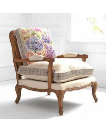 Florence Hydrangea Oak Chair