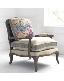 Florence Hydrangea Stone Chair