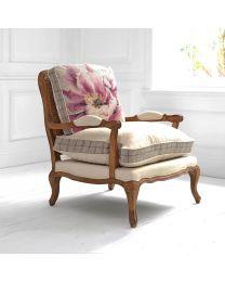 Florence Peony Oak Chair