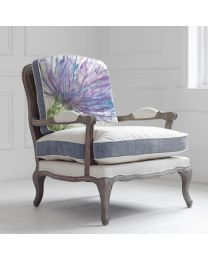 Florence Expressive Thistle Stone Chair