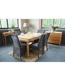 Slaley Oak Dining Table 180 X 100