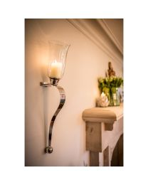 Signature Small Pair Of Curved Candle Sconces