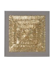 Gold Feathers Wall Deco