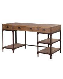 Large Rustic Pine Desk
