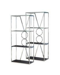 Pair Of Rings Shelf Units