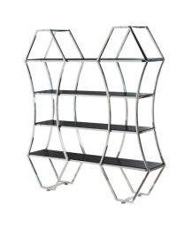 Shaped Shelves Display Unit