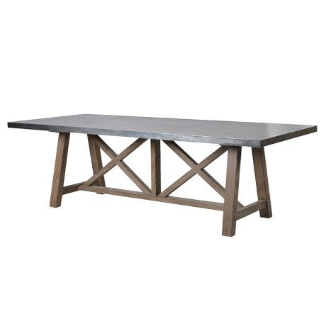 9d8bc30e4d01 X Frame Dining Table